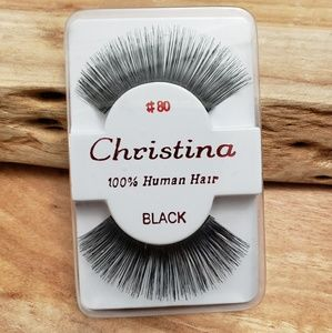 Christina 100% Human Hair Eyelashes NWT